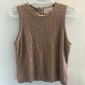•Vintage• Beaded Sleeveless Sweater